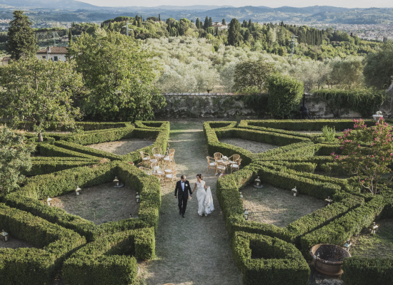 An unforgettable wedding at Villa di Maiano