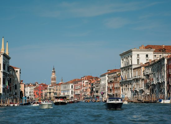 The romantic Venice