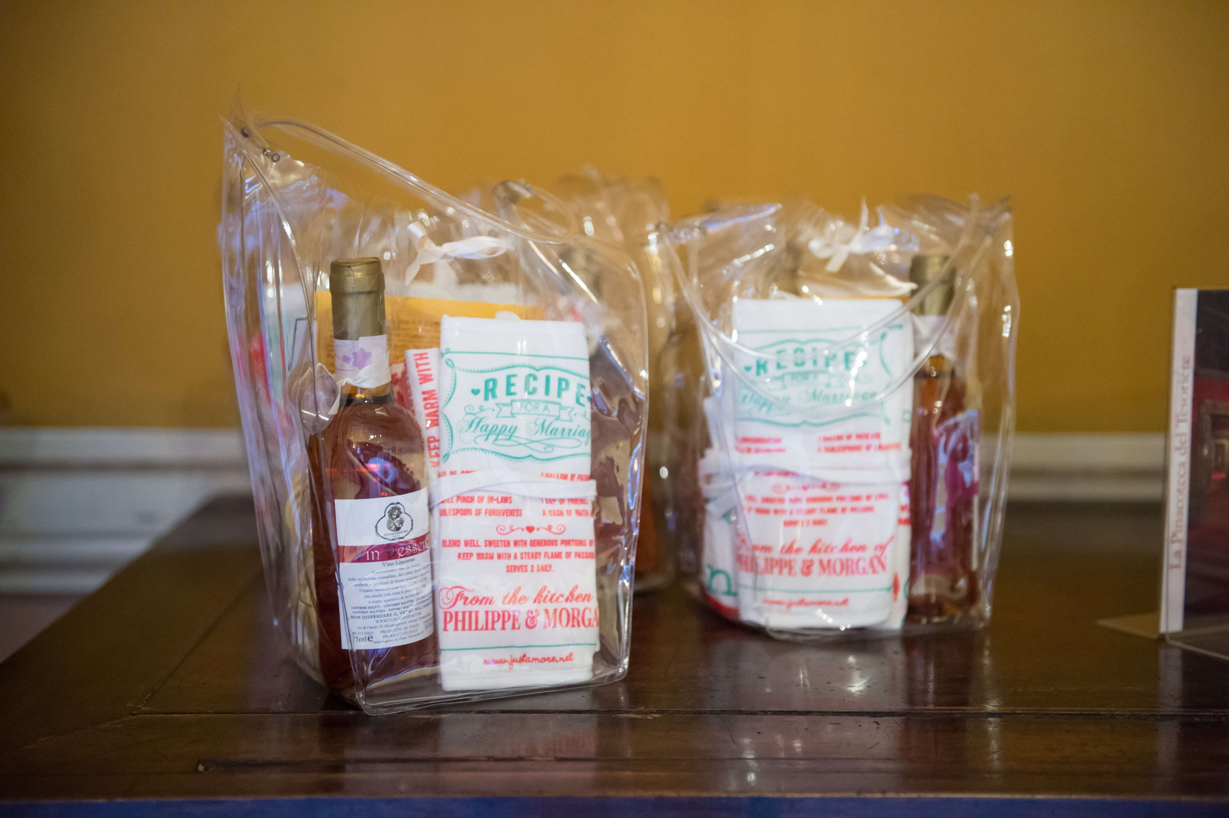 A welcome bag for your courteous guests