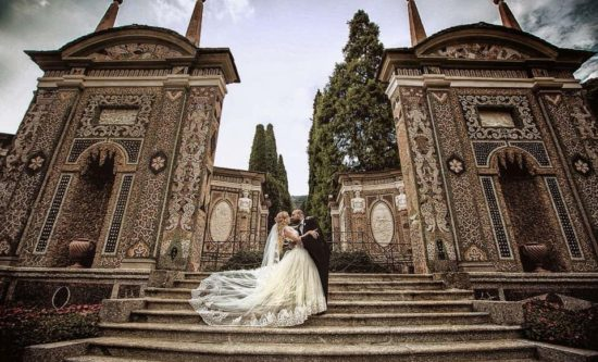 A magical wedding on the shores of Lake Como