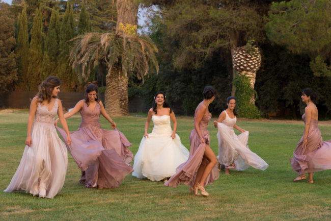 An enchanting wedding at Villa Dino