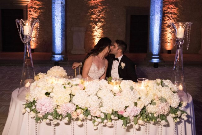 A romantic celebration in the stunning Castle of Odescalchi