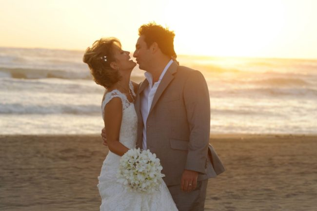A happily ever after by the beach